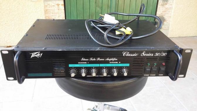 Ampli lampes PEAVEY Classic 50/50